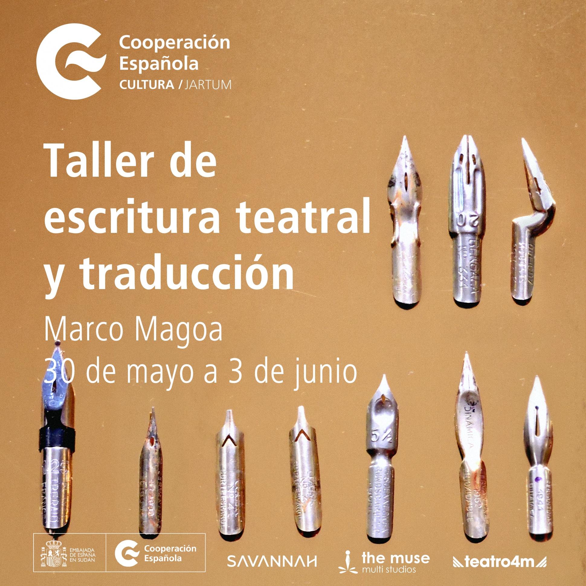 Cultura - Taller de Escritura Teatral Instagram Español copia